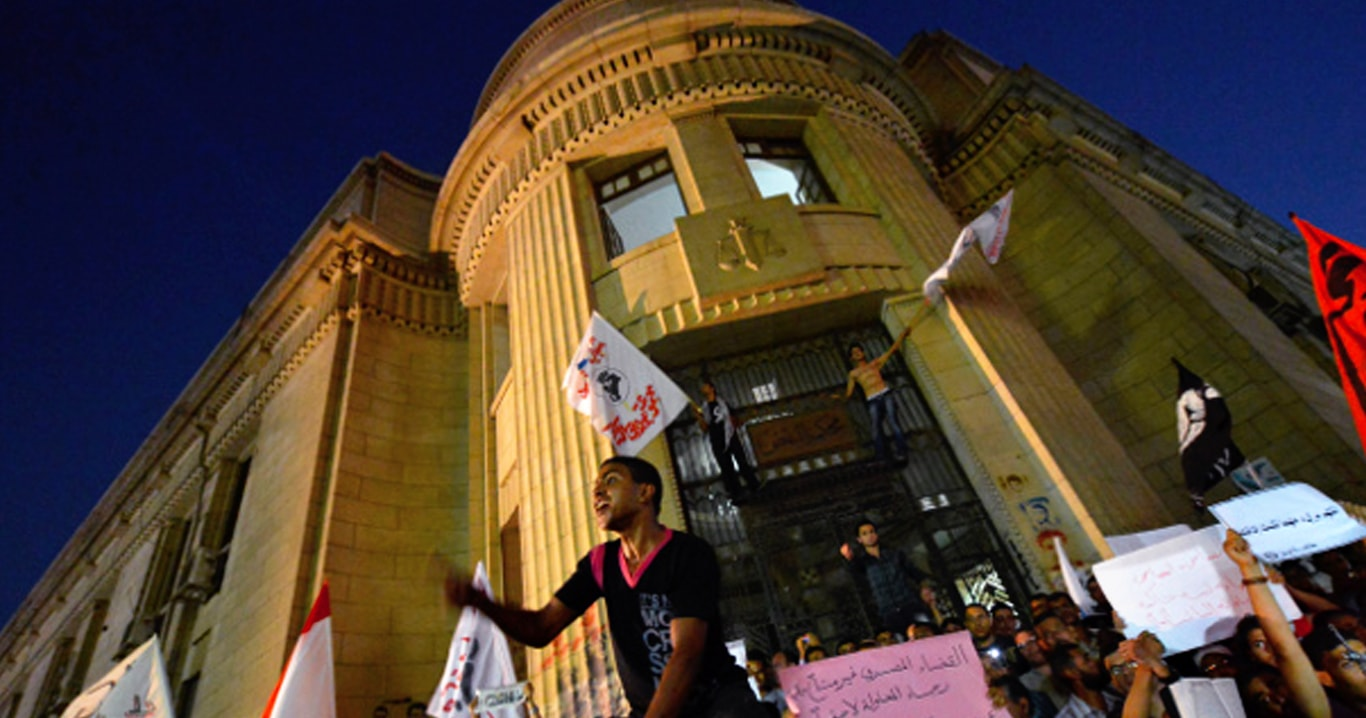 f087c529900e9 تحولات السلطة القضائية بعد انقلاب 3 يوليو 2013 - المعهد المصري للدراسات