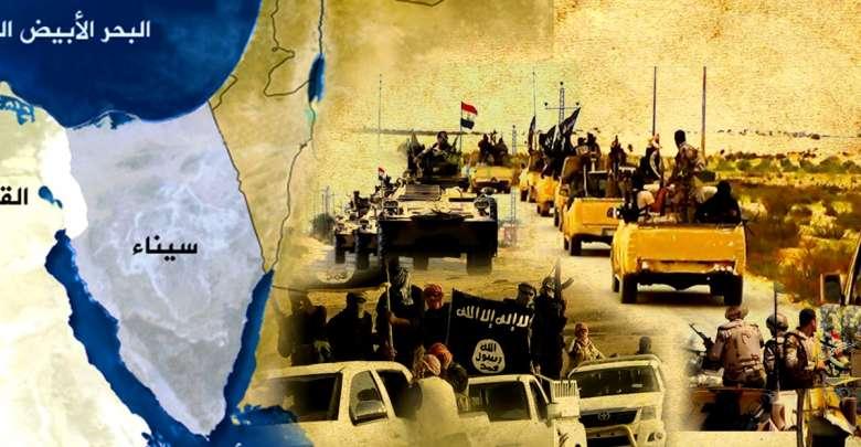 التنظيمات المسلحة في سيناء وإمكانيات التمدد داخلياً