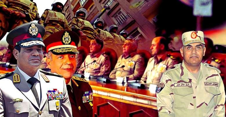 المؤسسة العسكرية بعد انقلاب 3 يوليو