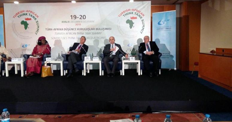 المعهد المصري يشارك في قمة تركيا أفريقيا