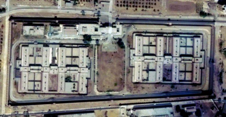 المقبرة نظرة من داخل سجن العقرب