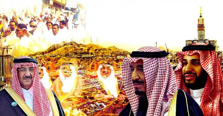 خريطة القوى الداخلية في السعودية