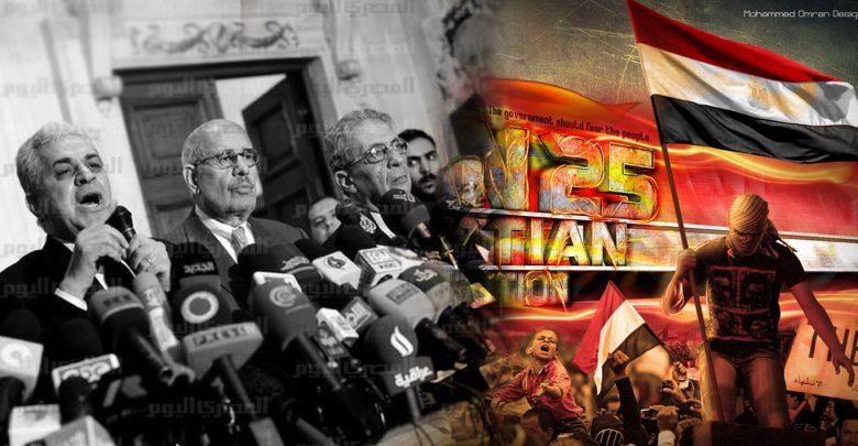 ثورة يناير وانهيار التحالف الانقلابي