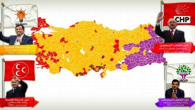 خرائط-القوى-السياسية-الداخلية-في-تركيا