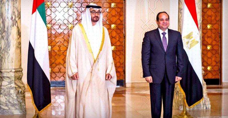 مستقبل السياسة الإماراتية تجاه مصر
