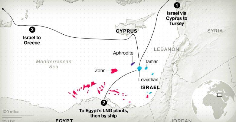 بلومبيرج: أسرار حقول غاز شرق المتوسط