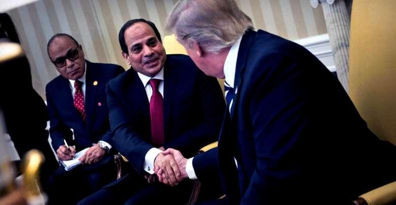 العلاقات الاقتصادية المصرية الأمريكية بعهد ترامب