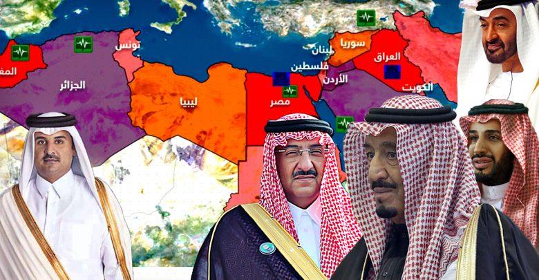 الأزمات البينية العربية والقضية الفلسطينية