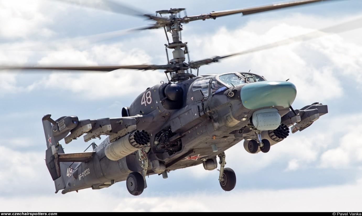 """طائرات""""ka-52"""" """"التمساح"""