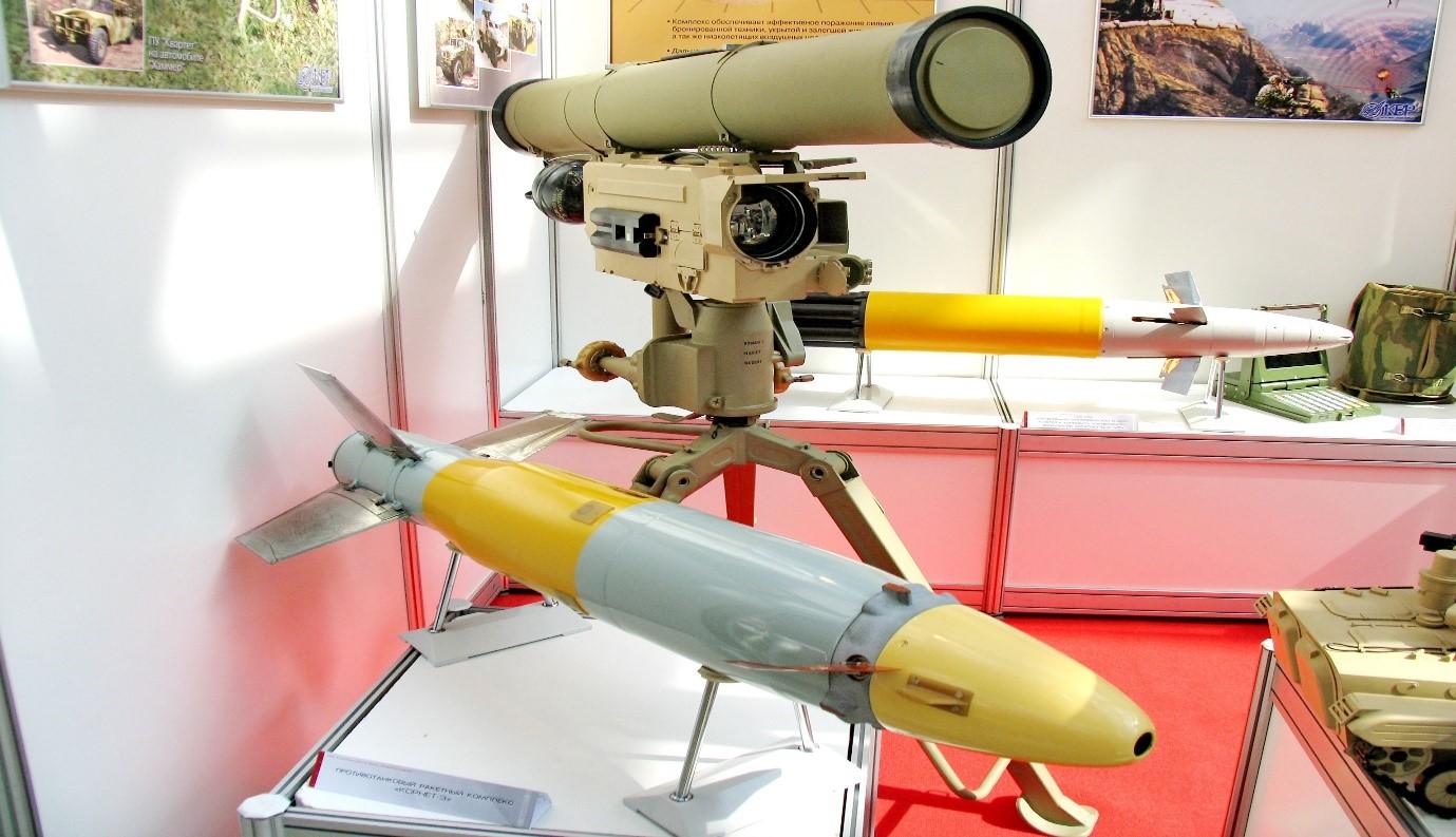 """صفقة صواريخ """"كورنيت"""