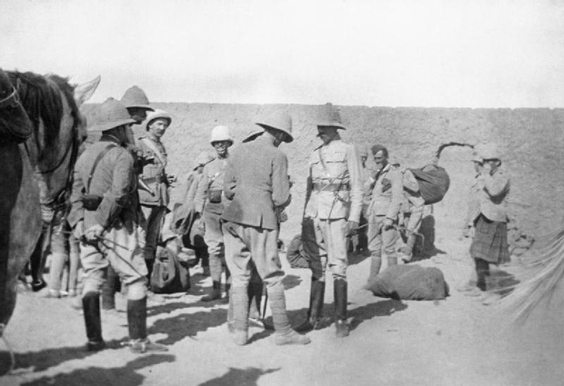 Brtish General Horatio Herbert Kitchener in 1898 in Egypt at the start of the Anglo-Sudan campaign (Wikicommons)