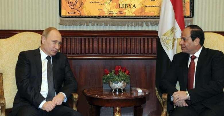 بوتين في القاهرة ماذا عن ليبيا؟