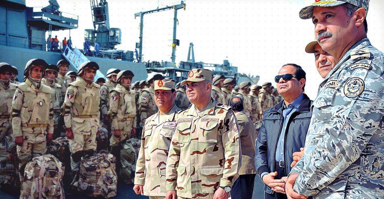 مصر المشهد العسكري