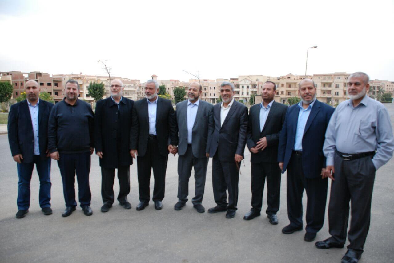 وفد ثالث من قيادات حماس يصل إلي القاهرة