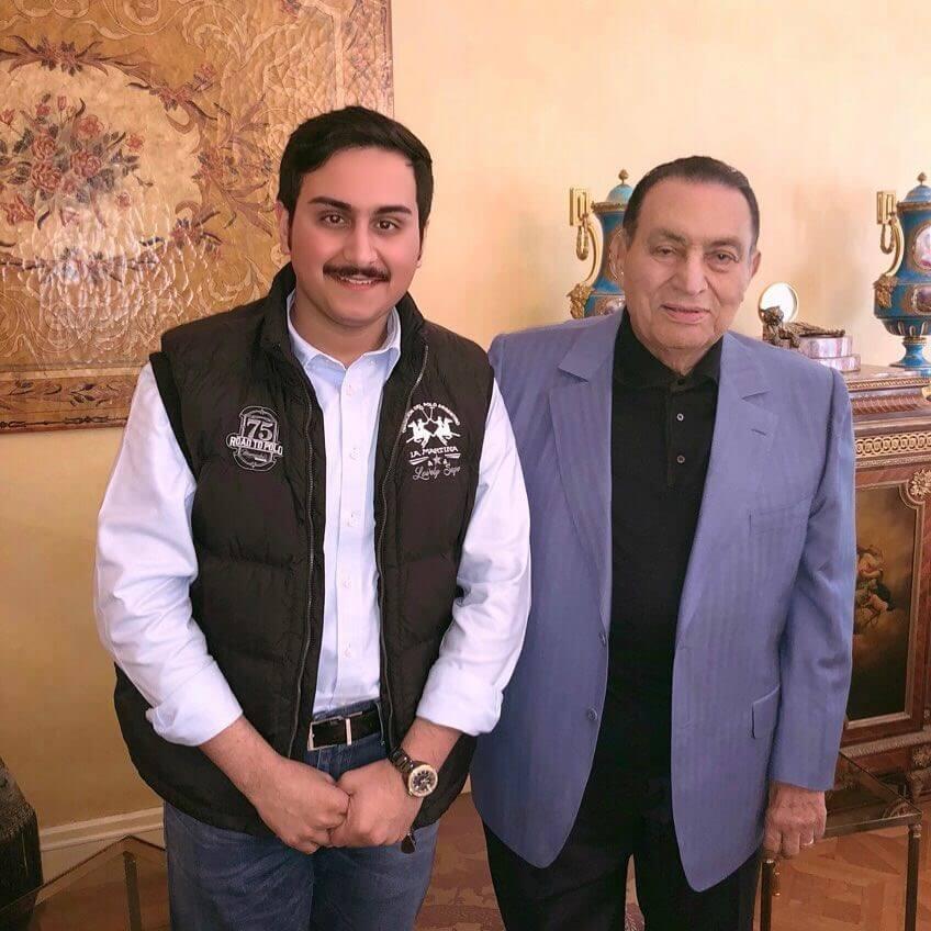 صورة جديدة لحسني مبارك بعد شائعة وفاته