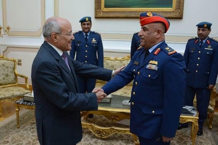 سعيد العصار، وزير الدولة للإنتاج الحربي وفدا رفيع المستوى من وزارة الدفاع بدولة الإمارات