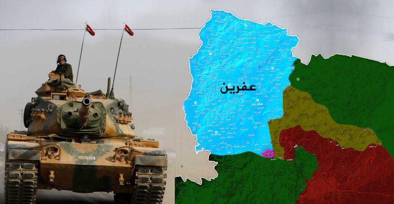 سوريا السياسة التركية بعد غصن الزيتون