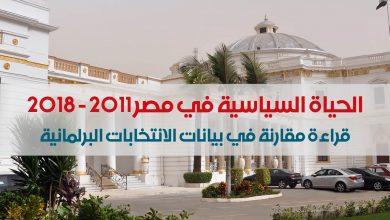 الحياة السياسية في مصر 2011-2018
