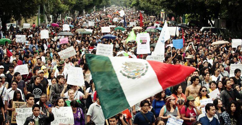 خريطة الحركات الاجتماعية في المكسيك