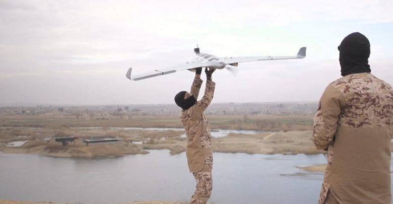 سماوات خطرة: الجهاديون والطائرات بدون طيار
