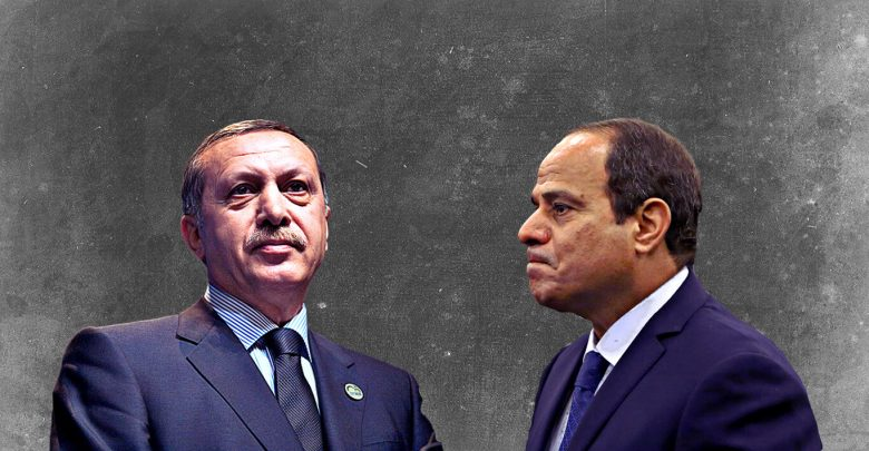 العلاقات المصرية التركية بعد انقلاب 2013