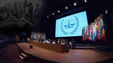 الجرائم التي تدخل في اختصاص المحكمة الجنائية الدولية