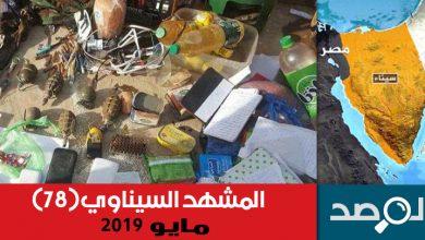 Photo of المشهد السيناوي مايو 2019