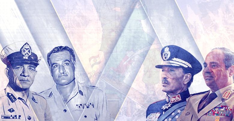 هكذا يتحركون عسكر مصر بين انقلابين