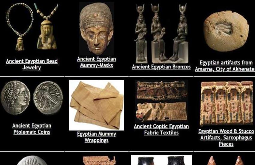 أثار مصرية معروضة للبيع في أمريكا