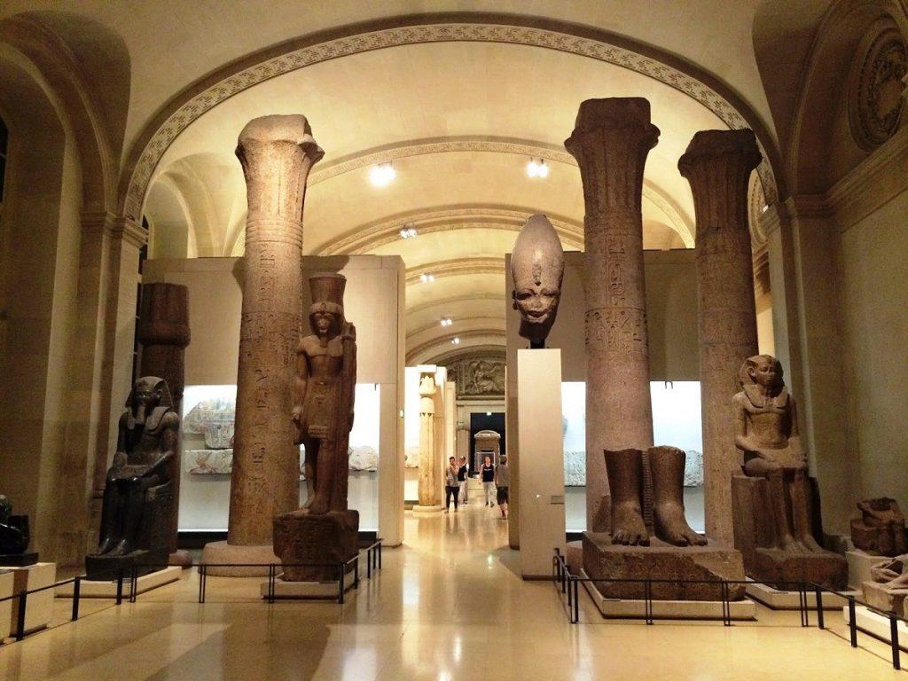 الجناح المصري في متحف اللوفر