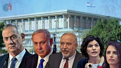 الخارطة السياسية في إسرائيل