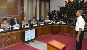 السيسي يشهد اختبارات القبول لطلاب الكليات العسكرية