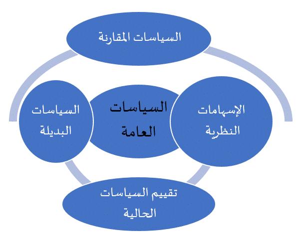 شكل 1: ضوابط منهجية لدراسة السياسات العامة