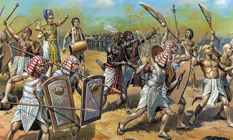 الجيش في مصر القديمة ودوره خلال الحرب والسلم