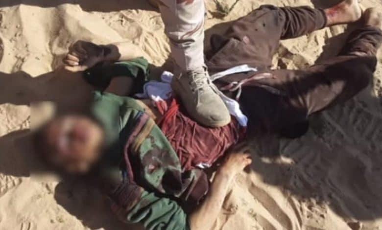 بعد حادثة سيناء التمثيل بالجثث جريمة ضد الإنسانية