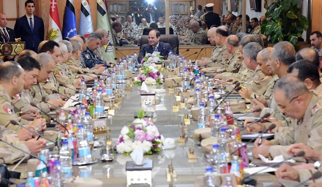meeting of the army commanders