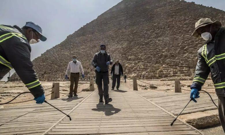 قطاع السياحة المصرية في مواجهة كورونا