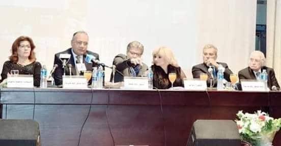مراد وهبة، جابر نصار، دينا أنور، خالد منتصر، سعد الدين الهلالي، فاطمة ناعوت.
