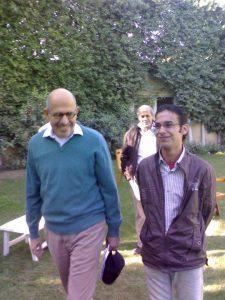ألبير صابر مع محمد البرادعي
