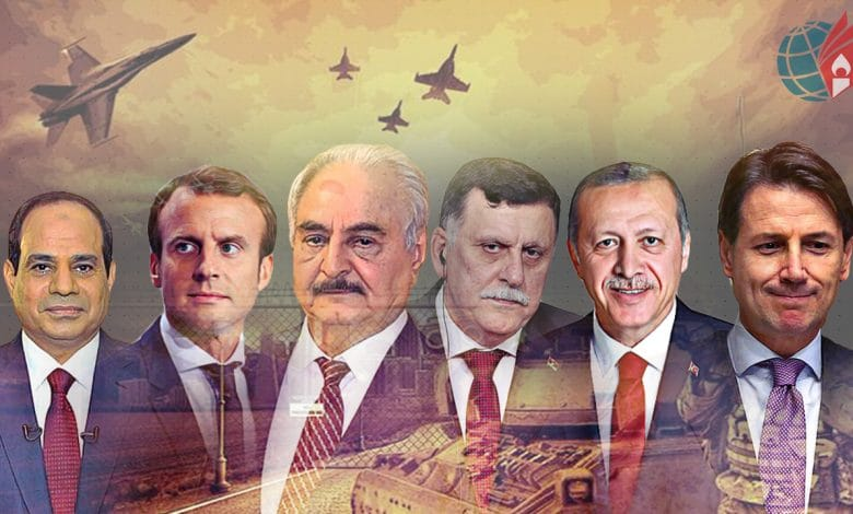 الدور المصري في ليبيا المحددات والمسارات