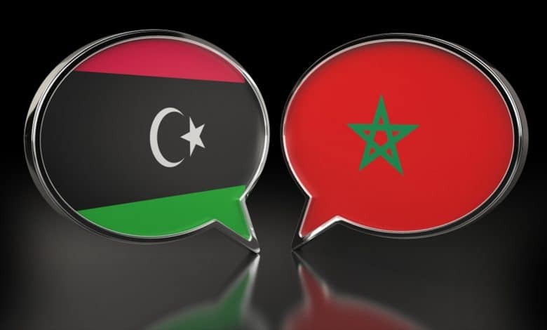 السياسة المغربية تجاه الأزمة الليبية