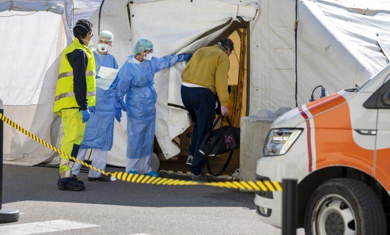 كوفيد-19 وتدوير المساعدات الطبية في الشرق الأوسط