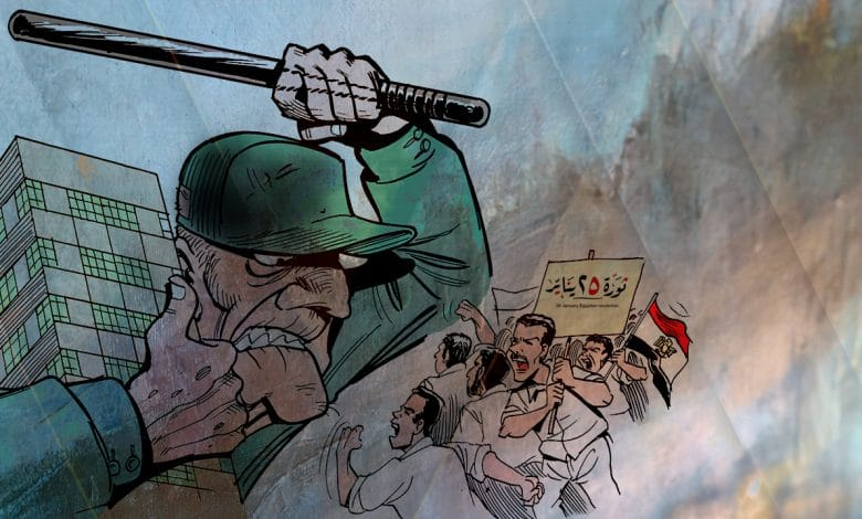 ملفات المعهد مصر ـ 10 سنوات بعد ثورة يناير