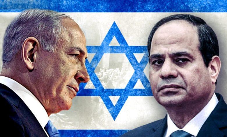 العلاقات المصرية الإسرائيلية بعد انقلاب 2013