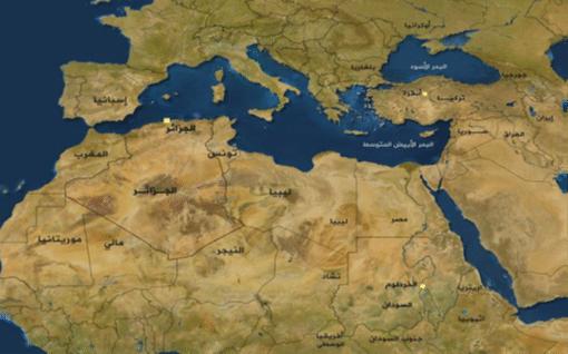 الخريطة الجيوسياسية للجزائر