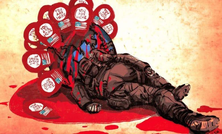 هيدجز آلة الانتحار الجماعية وسقوط كابول